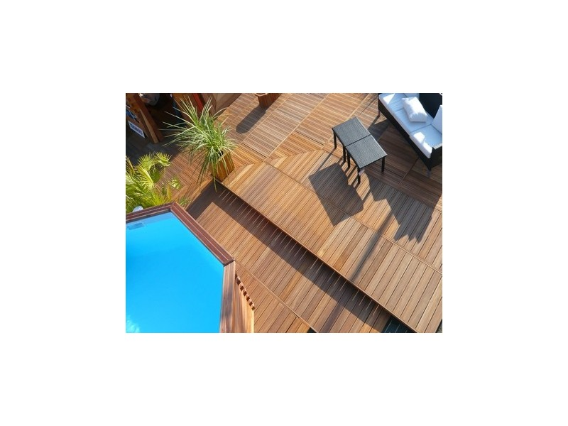 Destockage Bois Terrasse - Kit terrasse bois exotique 2M u00b2 DESTOCKAGE !!! Tekabois