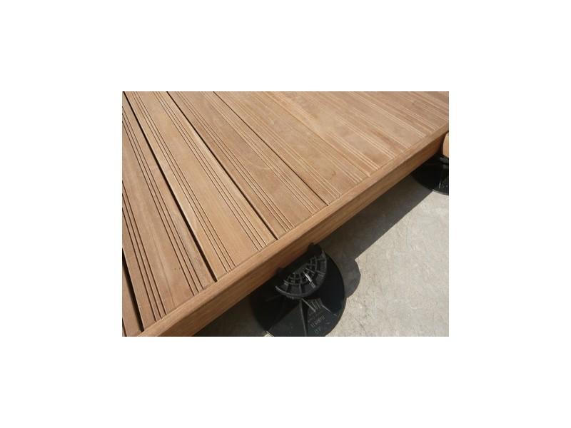 kit terrasse bois exotique 2m destockage tekabois. Black Bedroom Furniture Sets. Home Design Ideas
